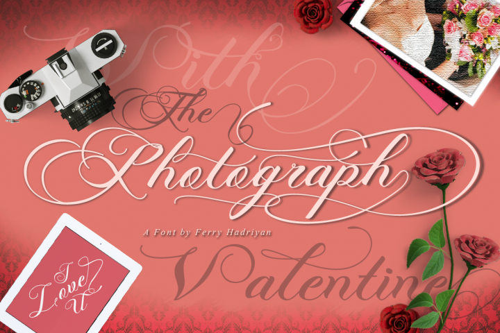 Photograph - Script Wedding Font - Free Font of The Week Font