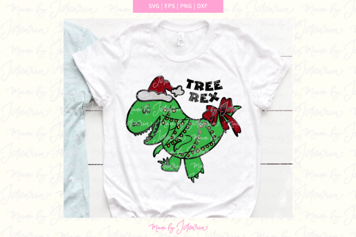 Tree Rex svg, christmas svg boys, christmas svg kids, boys