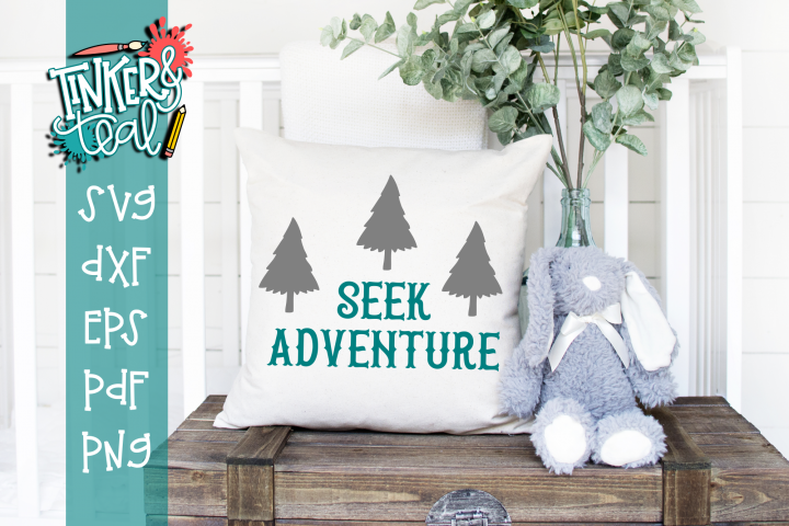 Seek Adventure Nursery SVG