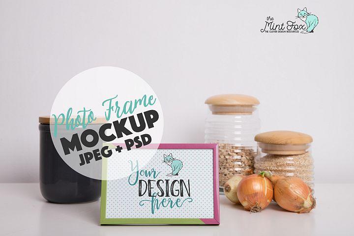 Photo Frame Mockup | PSD & JPG Mockup