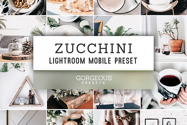 Mobile Lightroom Preset ZUCCHINI