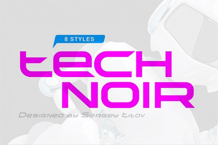 TechnoirSST Font