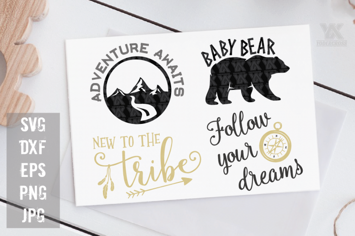 Woodland Adventure SVG Bundle