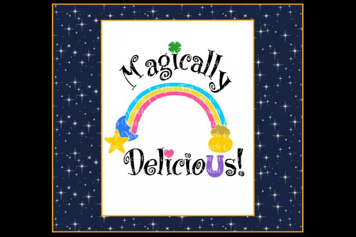 Magically Delicious Design file - St. Patricks Design file