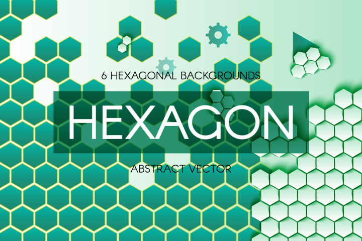Abstract Hexagonal Backgrounds