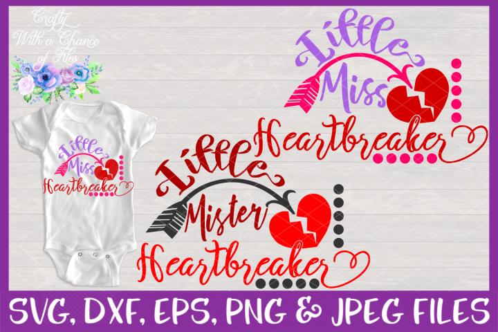 Little Heartbreakers SVG - Girl & Boy Valentines Day Design
