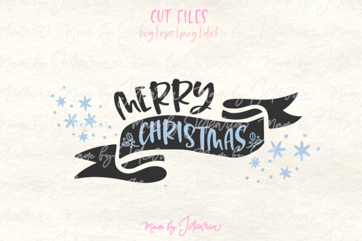 Merry Christmas svg, merry and bright svg, christmas svg