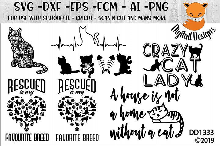 Cat Lover SVG Bundle