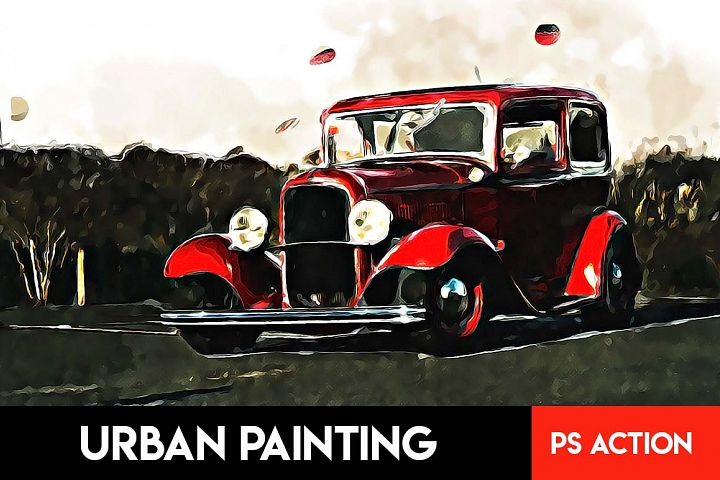 Urban Painting Photoshop Action