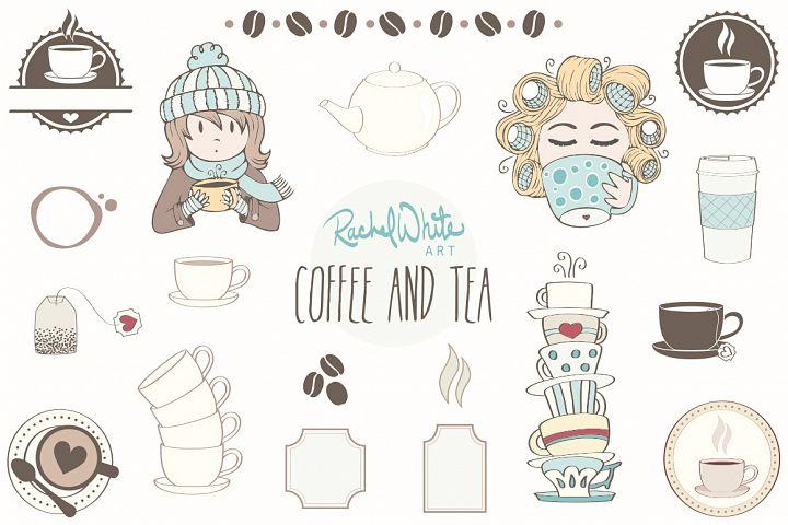Coffee & Tea - Free Design of The Week Design2