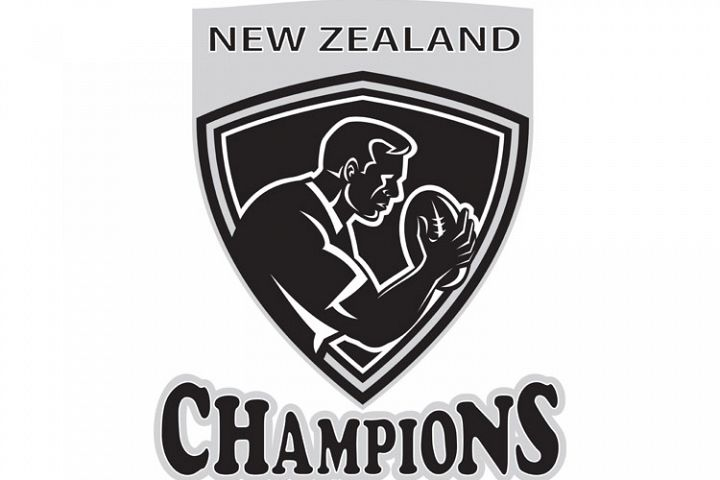 Rugby player New Zealand Champions shield