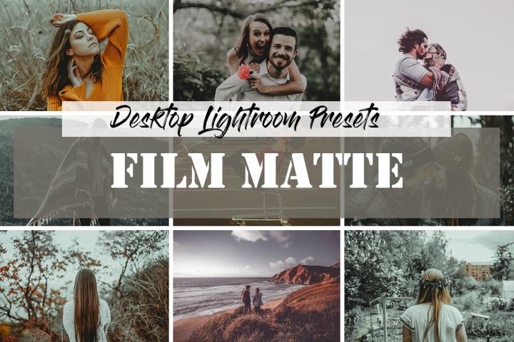 Lightroom Presets Film Matte
