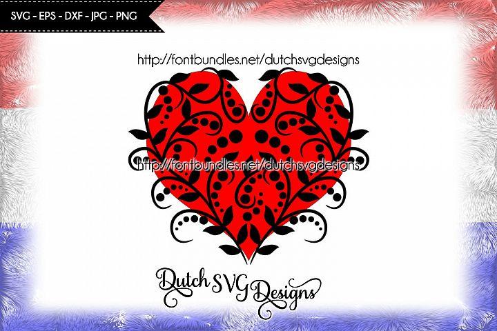 Decorative heart cutting file