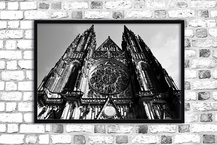 Architecture photo gothic cathedral blackandwhite gothic