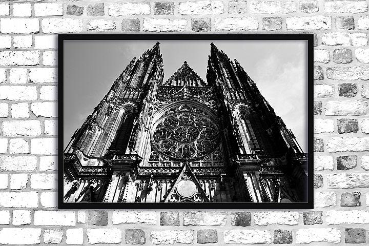 Architecture photo gothic cathedral blackandwhite gothic