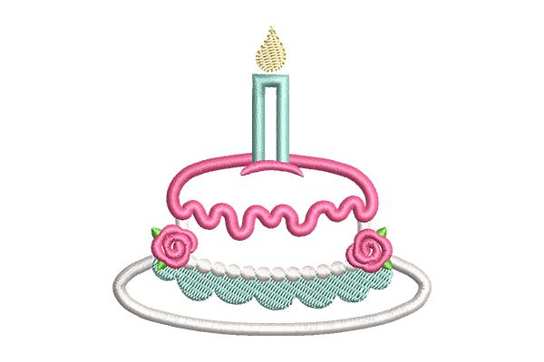 Floral Cake Applique