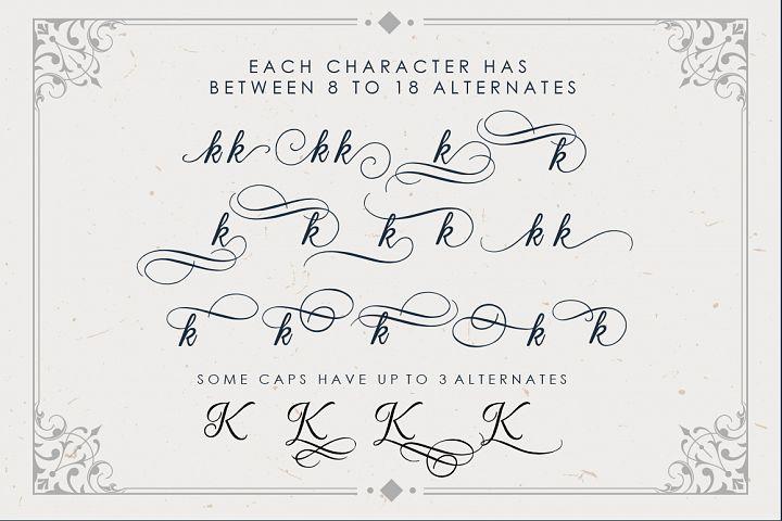 Beradon Script - Elegant Wedding font - Free Font of The Week Design2