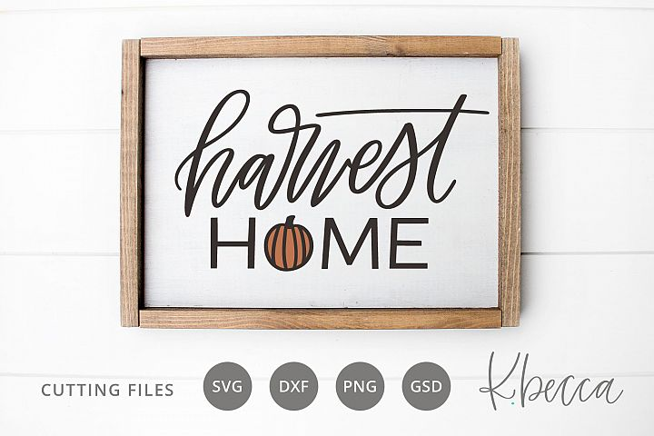 Harvest Home SVG Cut Files