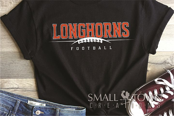 Longhorn, Football Team, Logo, Sport, PRINT, CUT & DESIGN