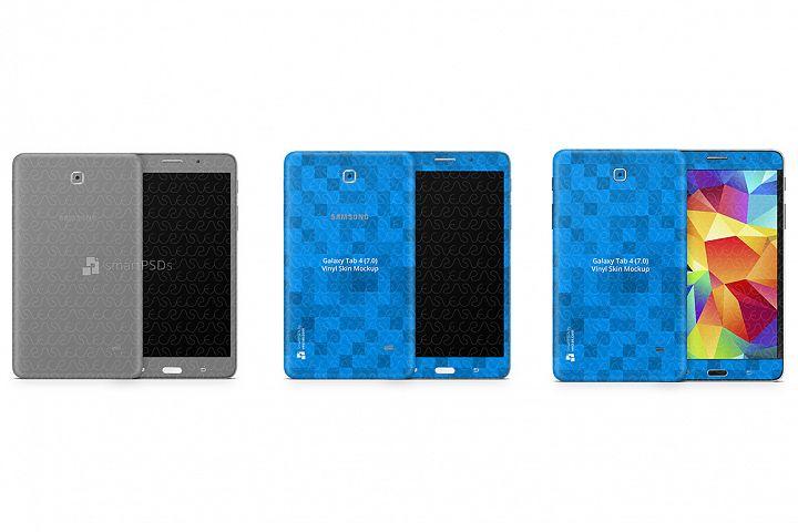 Samsung Galaxy Tab 4 7.0 Vinyl Skin Design Template 2014