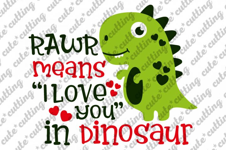 Valentines day svg, Valentines Dinosaur svg, dxf, png, jpeg example image 1