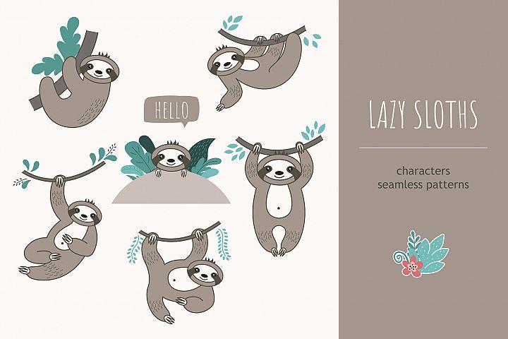 Lazy sloths
