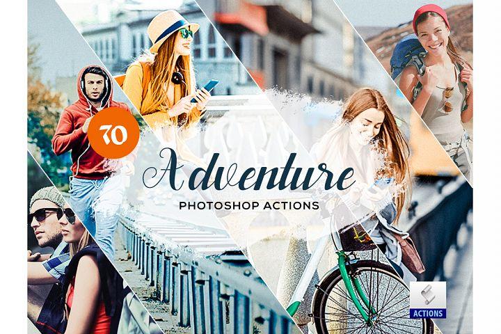70 Adventure Photoshop Actions
