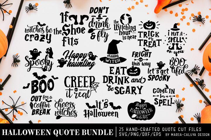 Halloween SVG Cut File Bundle