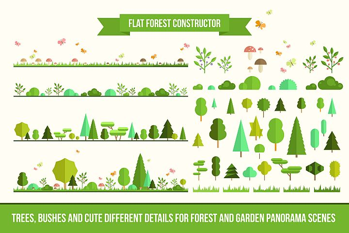 Flat Forest Constructor