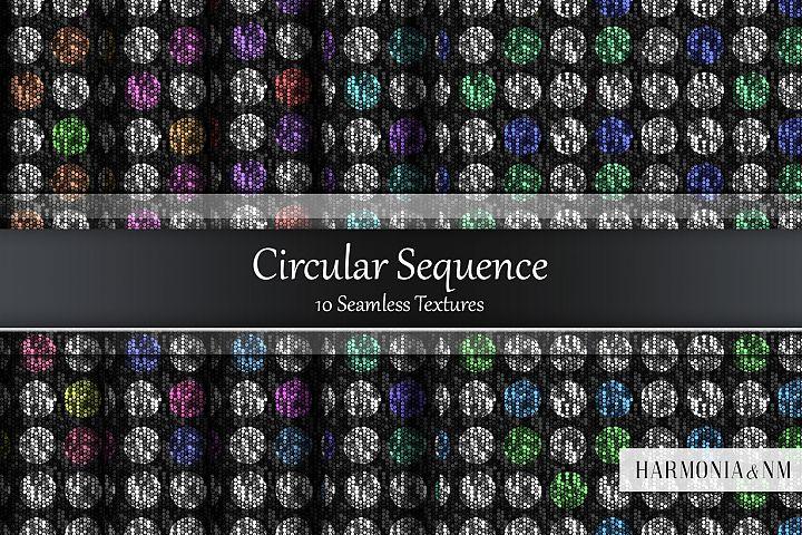 Circular Sequence 10 Seamless Textures