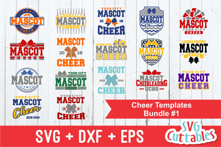 Cheer SVG Bundle #1| SVG Cut Files