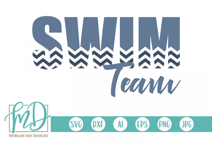 Swimming - Swim Team SVG