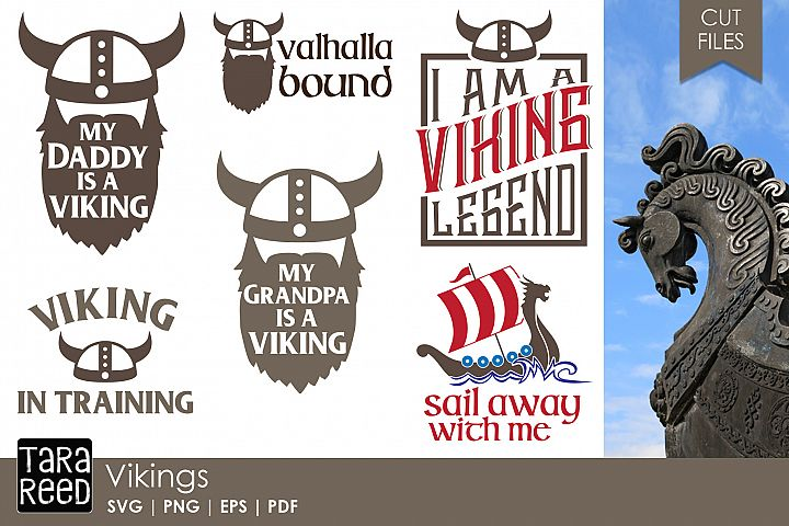 Vikings - SVG and Cut Files for Crafters