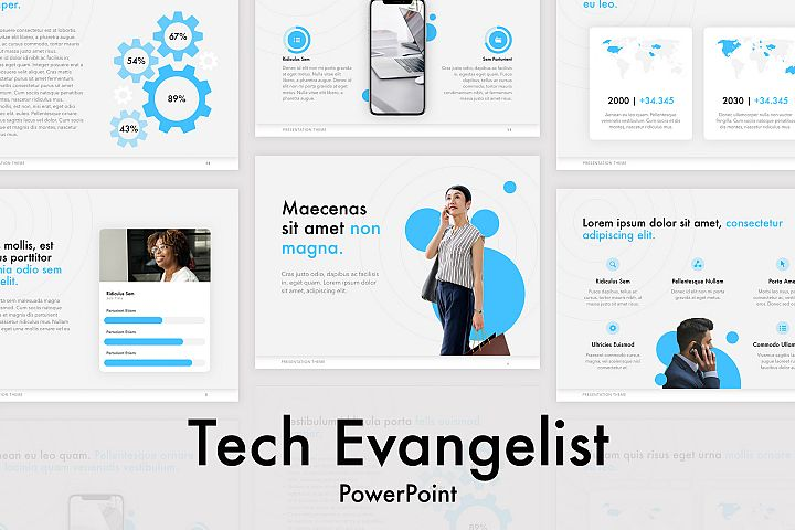 Tech Evangelist PowerPoint Template