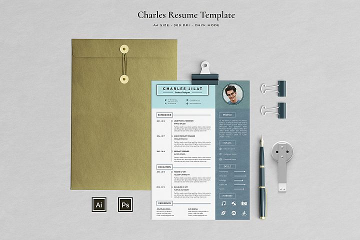 Resume Template 3 Pages | Jilat
