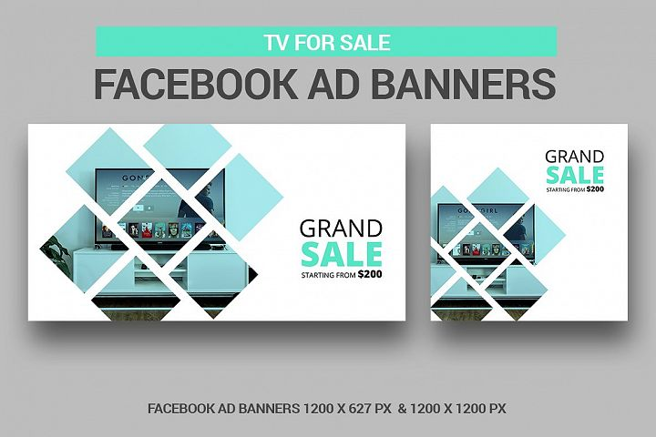 TV for Sale - Facebook Ads