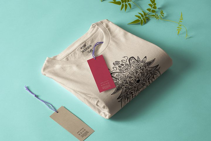 Wolf Mandala T-shirt Design Vector Illustration