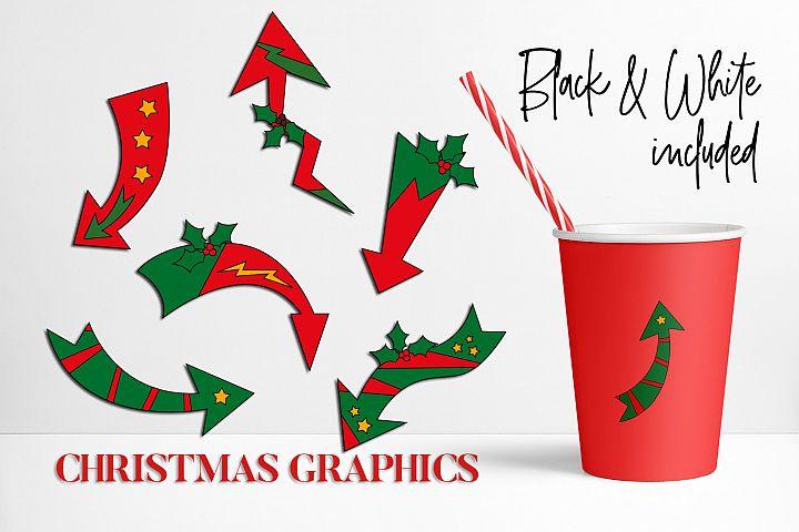 Christmas Arrows Graphics