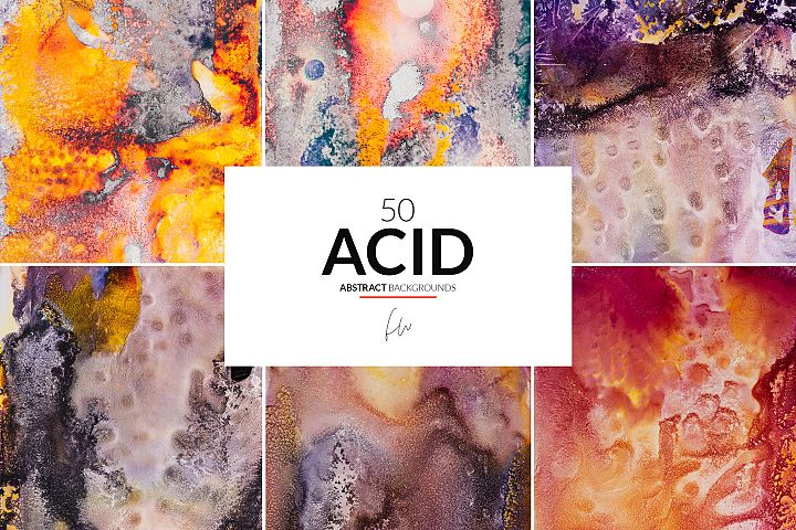 Acid - 50 Abstract Textures