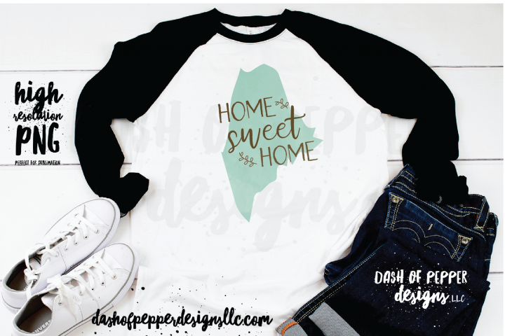 Maine - A Home Sweet Home PNG