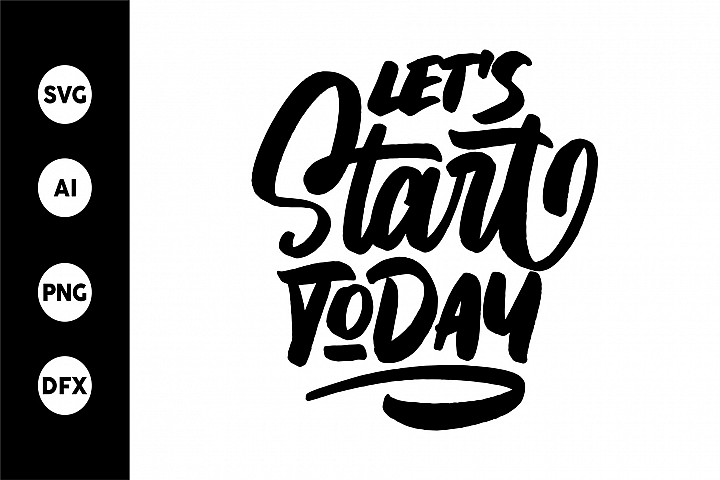 SVG - Lets Start Today