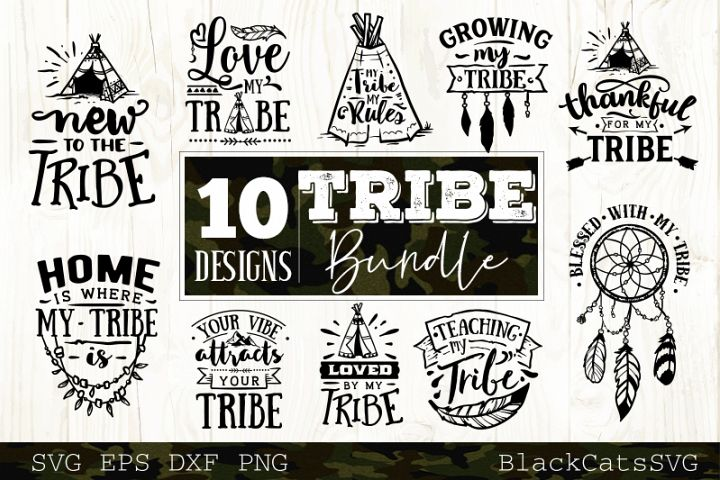 Tribe bundle SVG 10 designs Wild SVG bundle vol 4