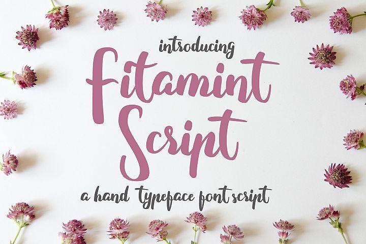 Fitamint Script - Font