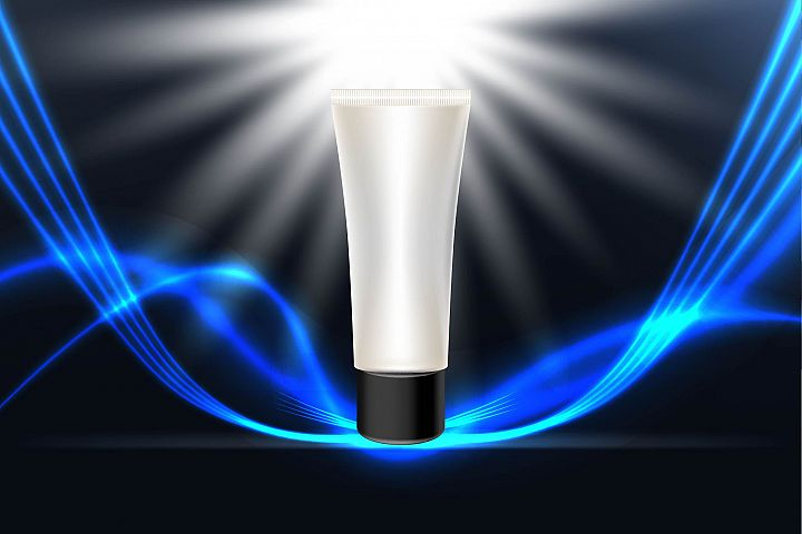 face wash for men contained, Men cosmetic packaging design.