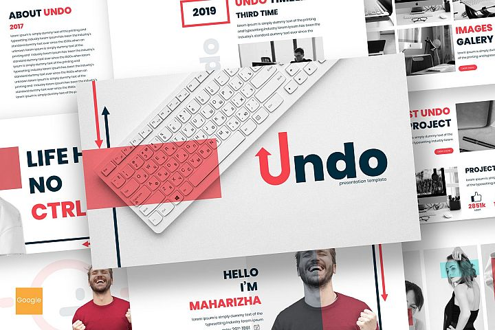 Undo - Google Slides Template