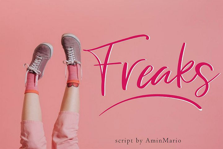 Freaks - Script Font