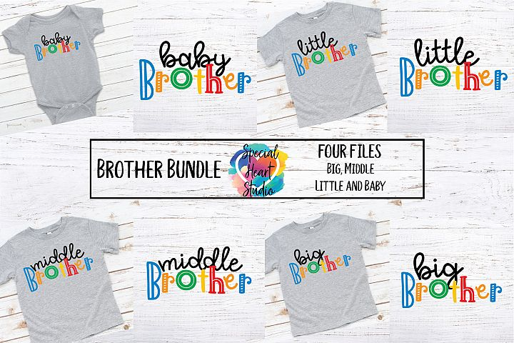 Brother Bundle - A set of brother sibling SVG designs