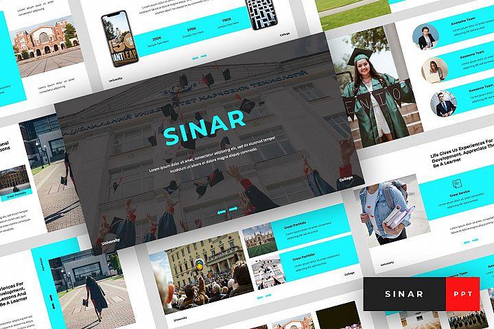 Sinar - University PowerPoint Template