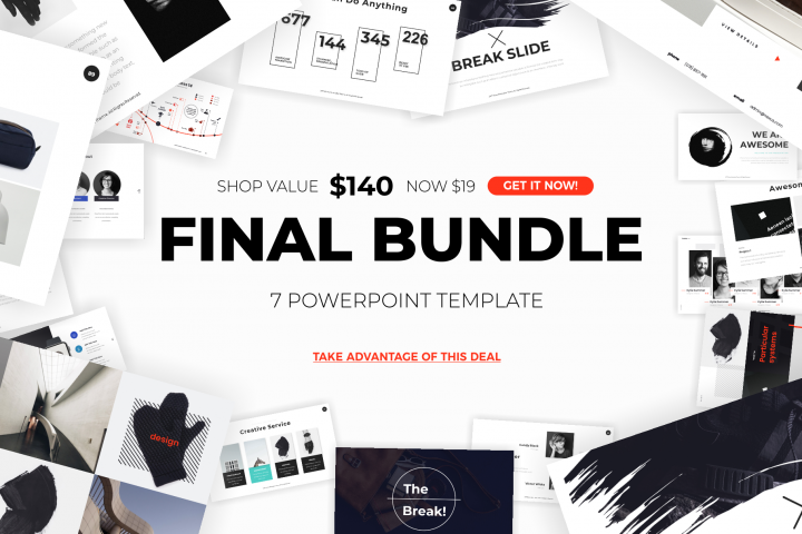 professional powerpoint template bundle