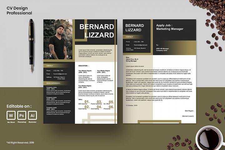 Cv Design Template Professional Vol.6